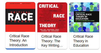 Books on Critical Race Theory