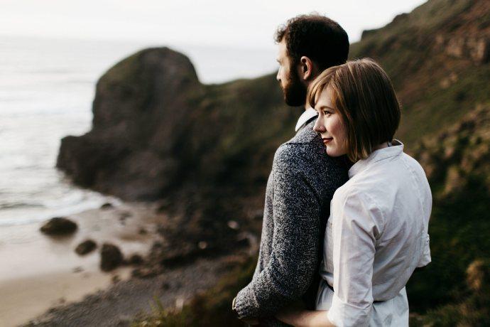 Cannon Beach / Portland Engagement Photographers (20)