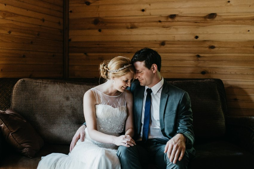 sarah joel brown mountain wedding
