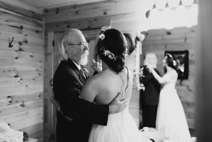 father daughter wedding moments