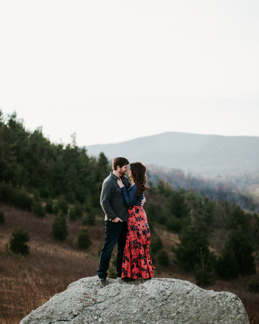 blue ridge parkway engagement locations