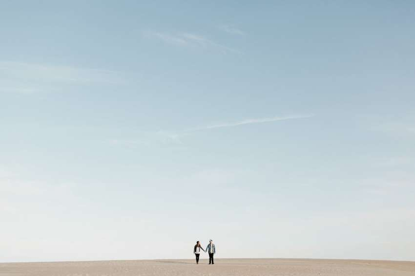 epic outer banks engagement shoot