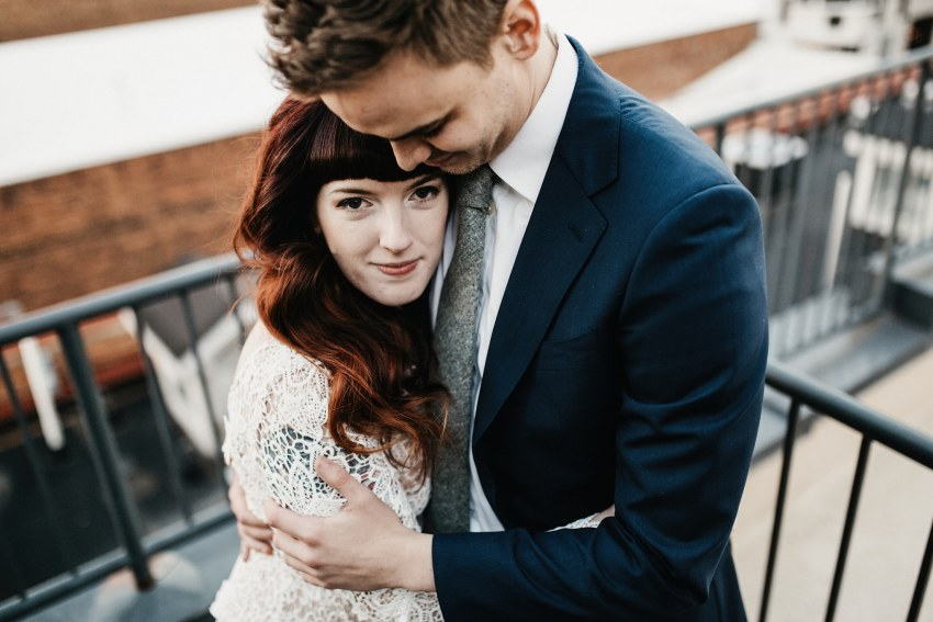 raleigh winter elopement