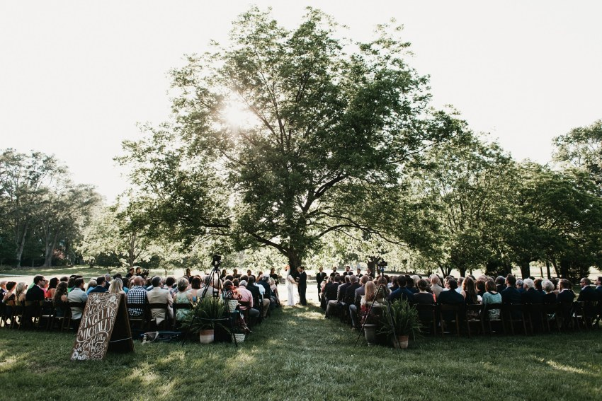 greenville south carolina outdoor wedding
