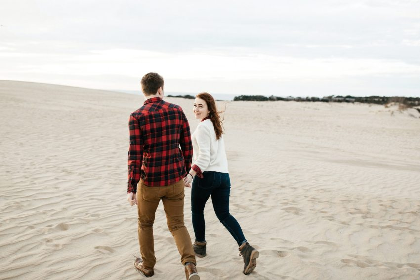 outer banks nc engagement photos