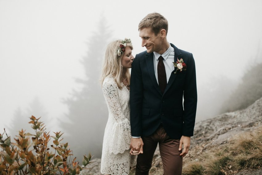 moody asheville elopement
