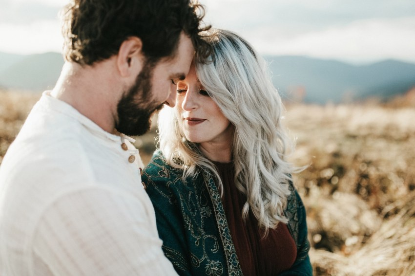 asheville mountain engagement