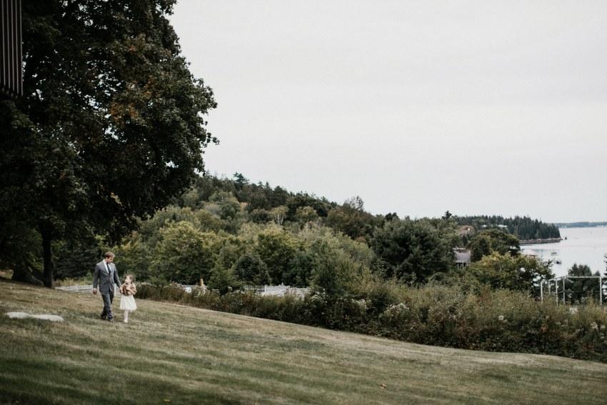 northeast harbor wedding Maine