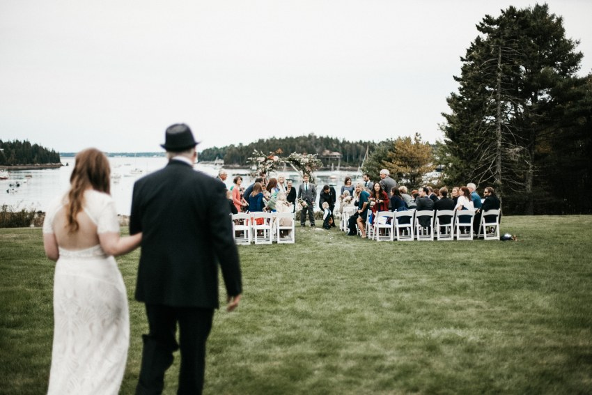 bar harbor maine wedding