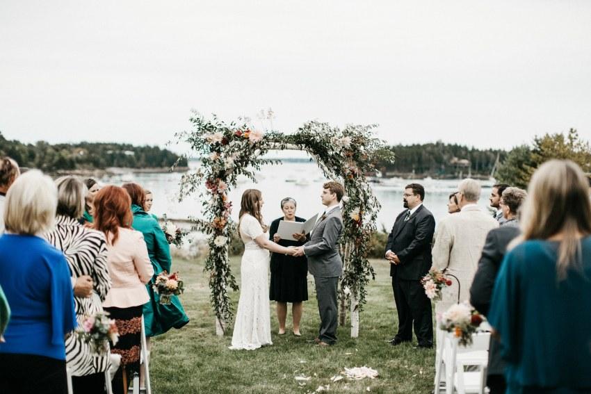 bar harbor maine wedding