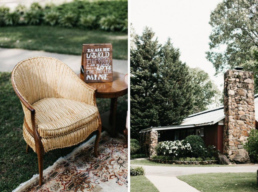 south carolina backyard outdoor wedding