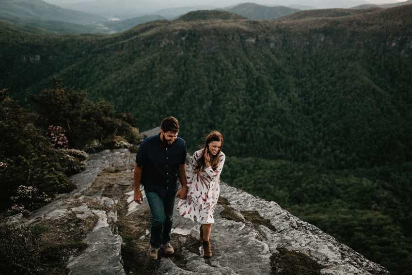 linville gorge engagement