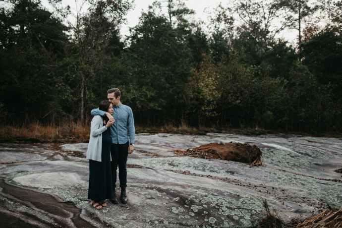 hipster North Carolina maternity shoot
