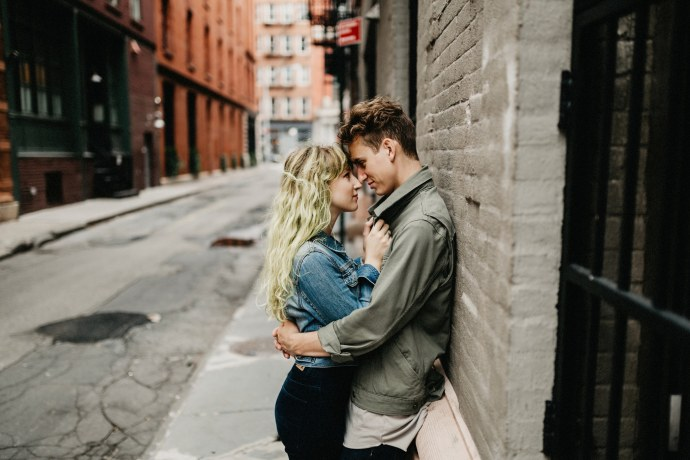 Tribeca couples photo shoot