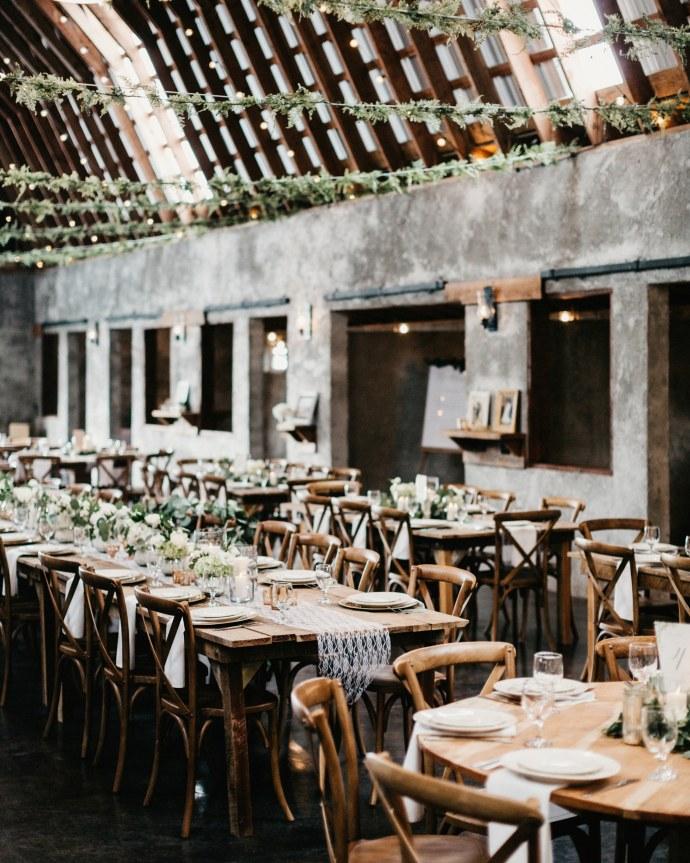 overlook barn beech mountain wedding 109