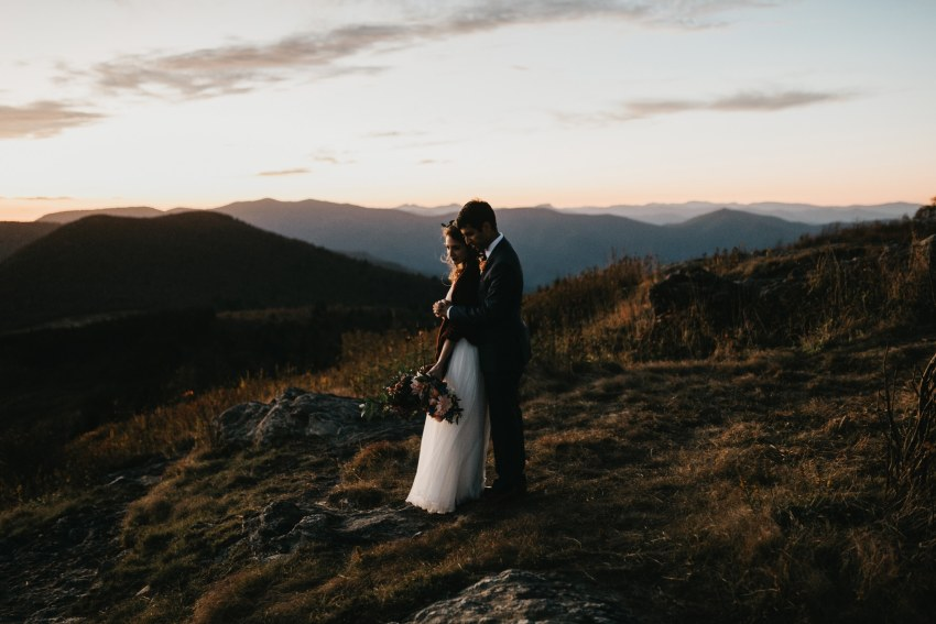 Brett & Jessica Photography | Asheville elopement photographer