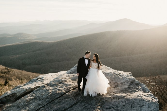 Brett & Jessica Photography | boone wedding photographer