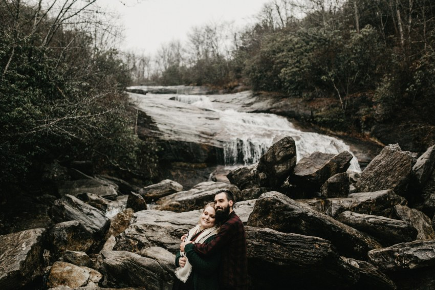 Brett & Jessica Photography | Asheville engagement photos