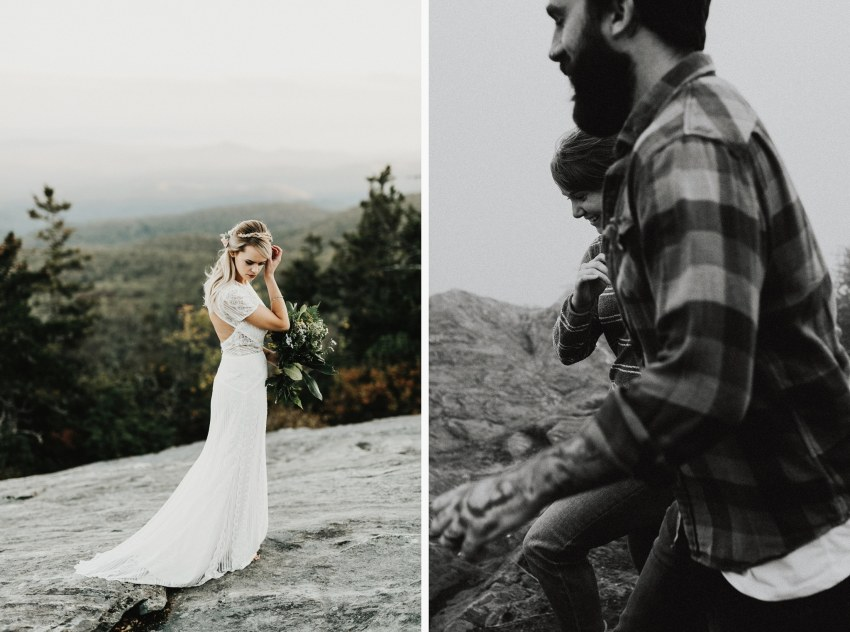 Brett & Jessica Photography | boone wedding photographer