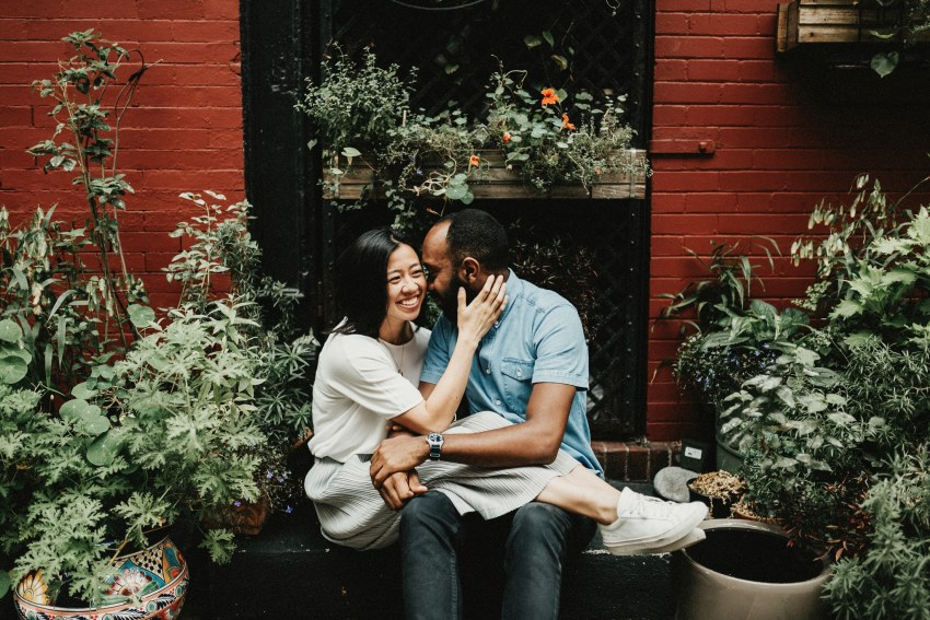 Brett & Jessica Photography | west village nyc engagement photo locations