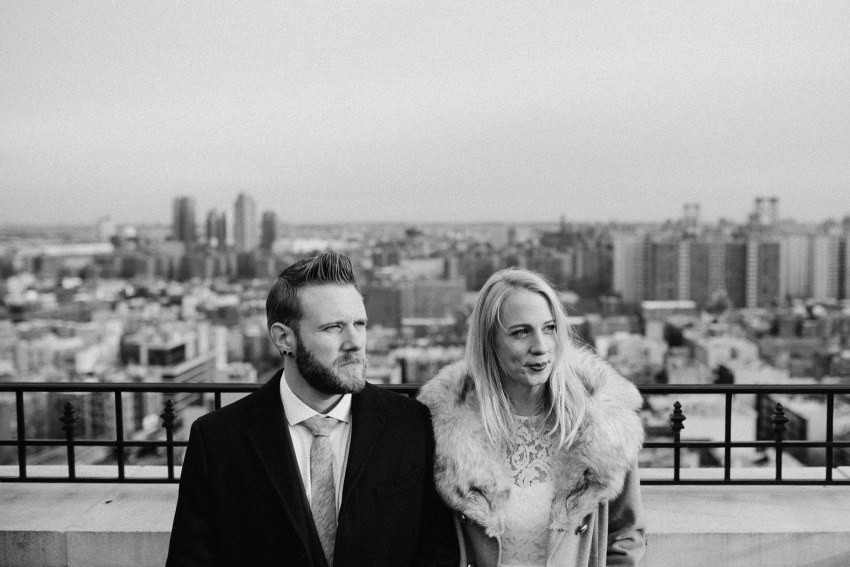 Brett & Jessica Photography | nyc New York city elopement photographer