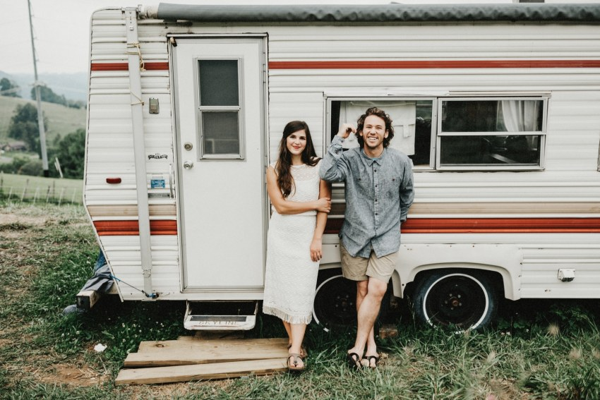 2017-raleigh-Brett & Jessica Photography | camper wedding photos