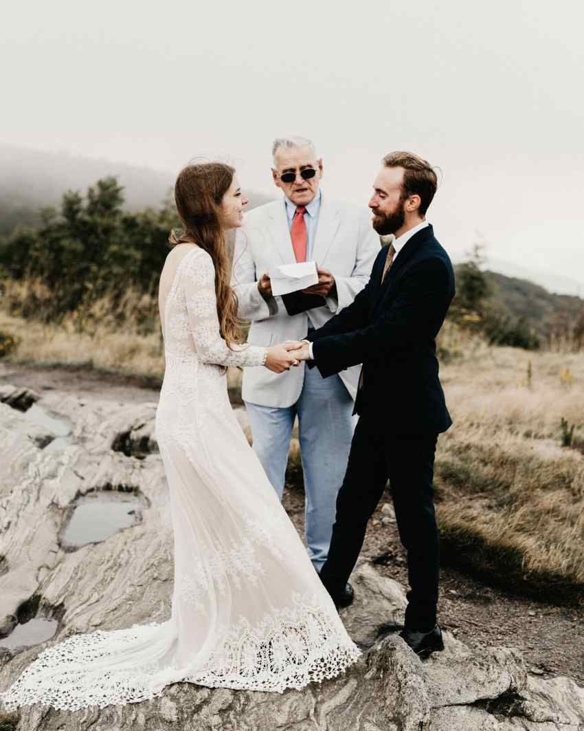 Mountain elopement locations
