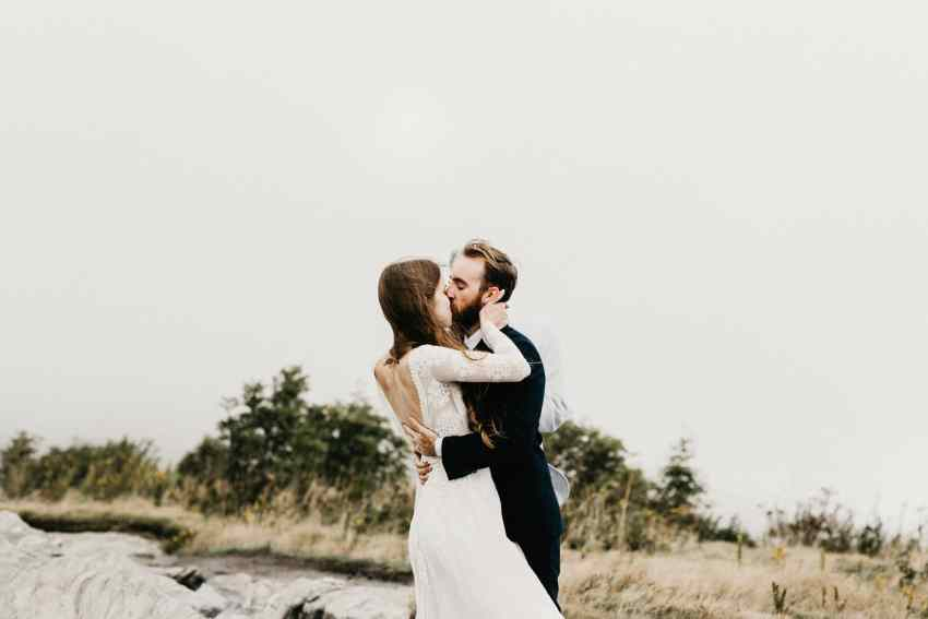 Blue ridge mountains elopement