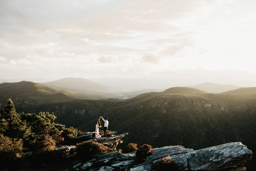 hawksbill linville gorge engagement