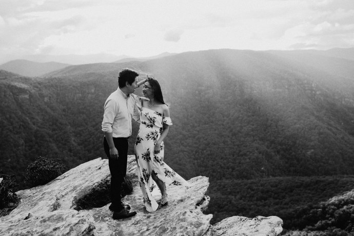 high country wedding photography