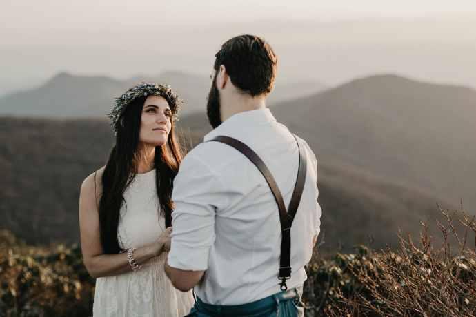 indie wedding photographers asheville
