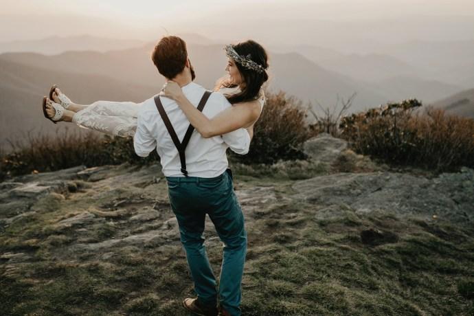 nc mountain elopement