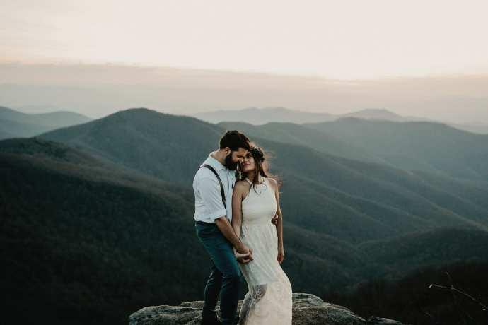 asheville destination elopement