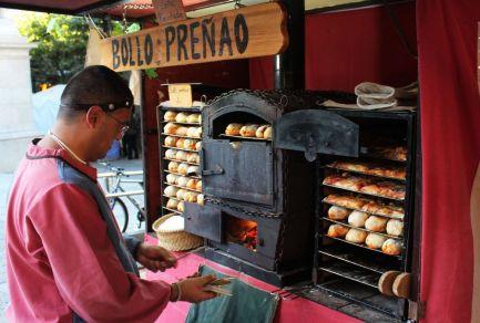 Bollo preñao, Medieval market, Burgos