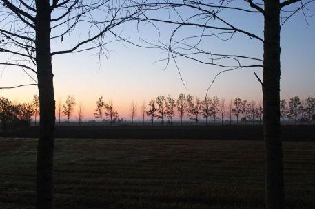 Sunrise near Carrión de los Condes