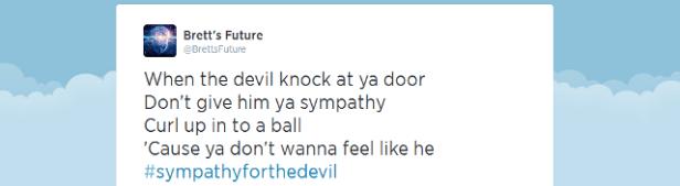 Devil knocks
