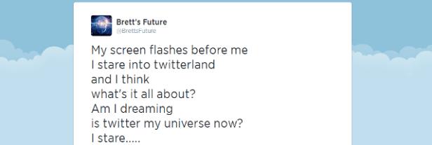 Twitter my universe