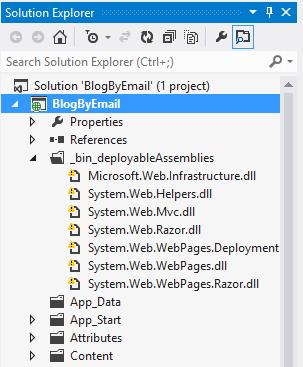 Bin Deployable Running VS2010 ASP.NET MVC 3 project in VS2012