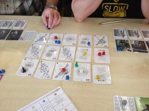 Prototyp - Headhunter Messabordgames