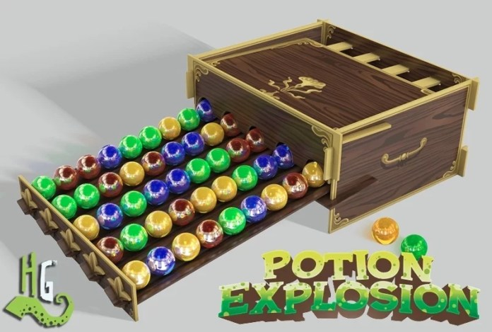 potion expl mat