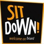 sit down logo