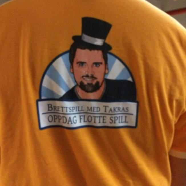 Flott T-skjorte? Det syns jeg :)