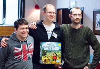 Terje Vedaa vant i verdens største Imperial Settlers-turnerning. Forfatteren til venstre var fornøyd med prosessen.