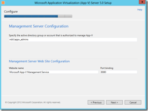 Configure The Management Server