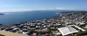 17AUG Seattle Space Needle view