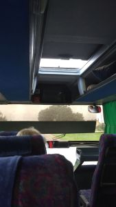 """The """"open roof"""" bus"""