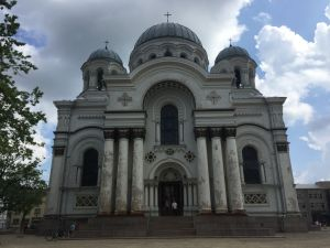 One of the many churches