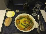 The main course on our flight