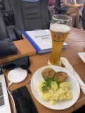 010 Lunch in the train