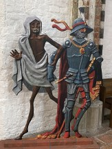 016 Two sculptures - Death and Soldier